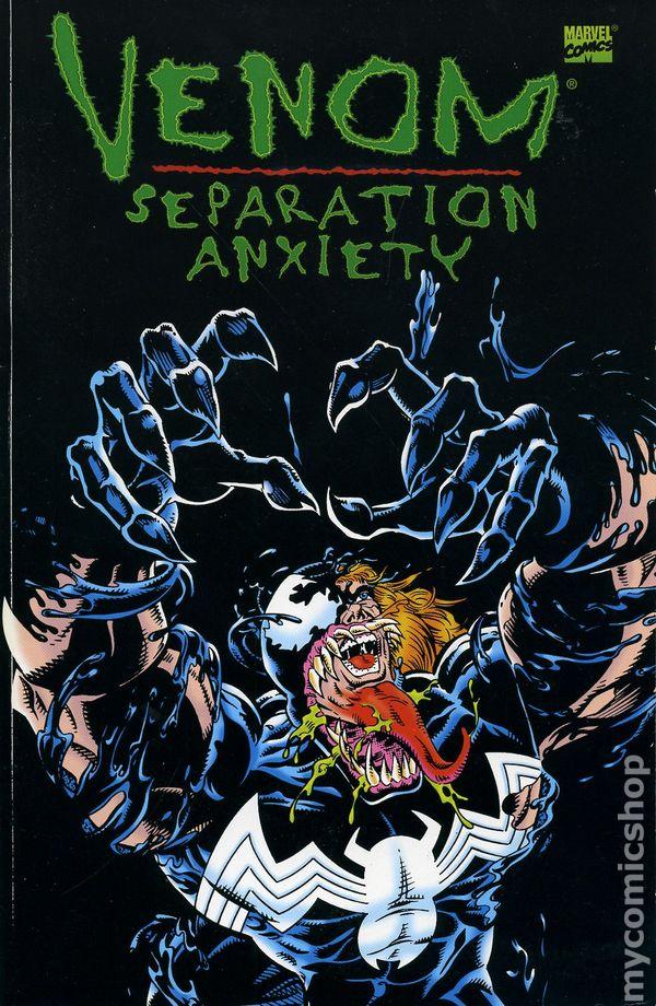 Venom Separation Anxiety Comic Books Issue 1