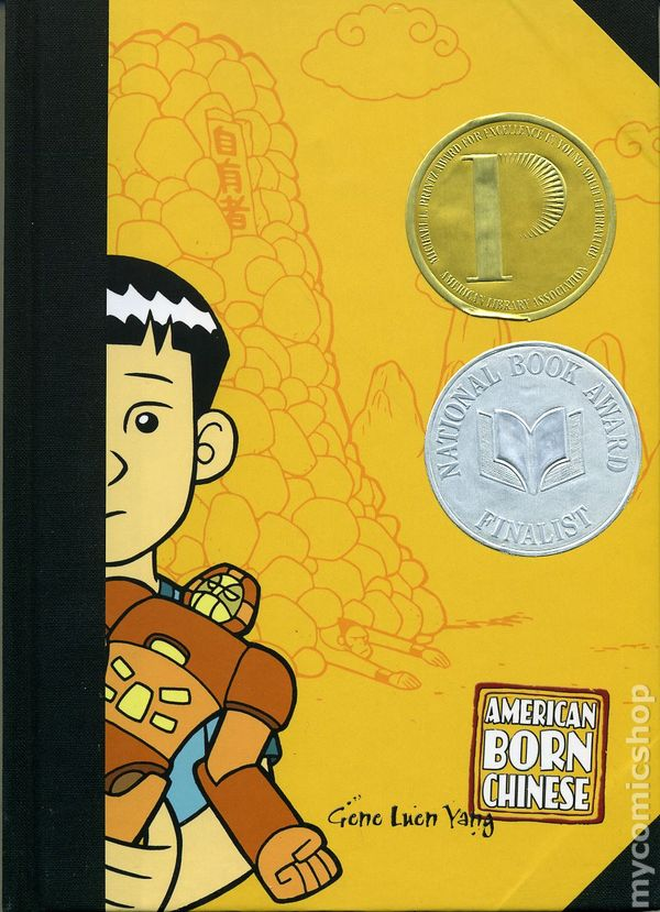 """american born in chinese Is it so bad to grow up asian in america one might be forgiven for asking upon encountering """"american born chinese,"""" a graphic novel that, with its dark exploration of asian-american adolescence, won last year's michael l printz award for young adult literature and was also a finalist in its."""