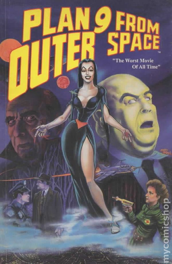 Plan 9 from outer space movie adaptation 1990 comic books for Outer space movies