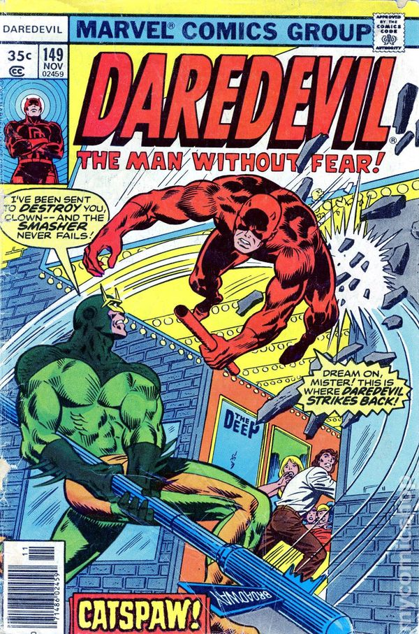 Daredevil Comic Books Issue 149