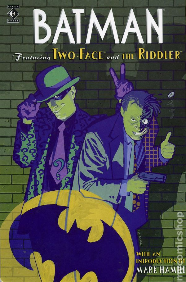 Batman Featuring Two Face and the Riddler TPB