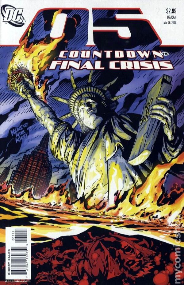 Countdown to Final Crisis #12 February 2008 DC NM 9.2