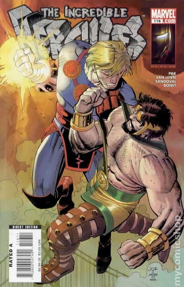 Incredible Hercules #135