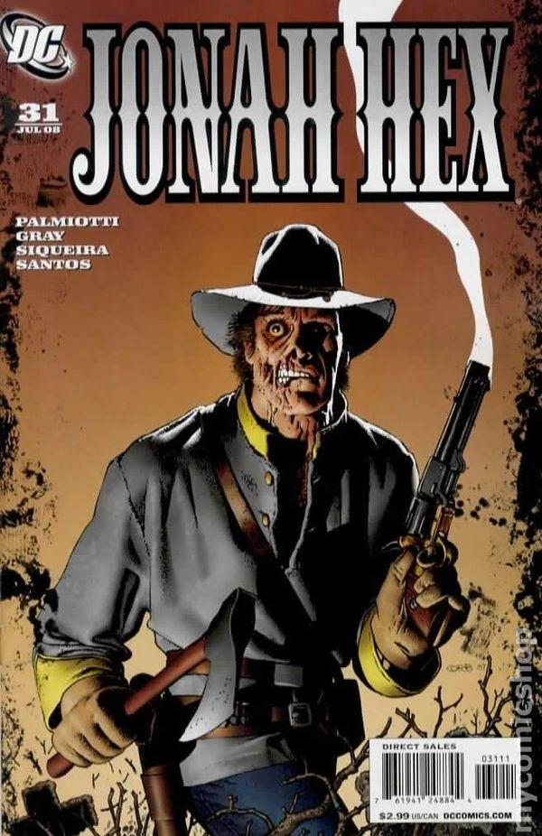 jonah hex  2005 2nd series  comic books