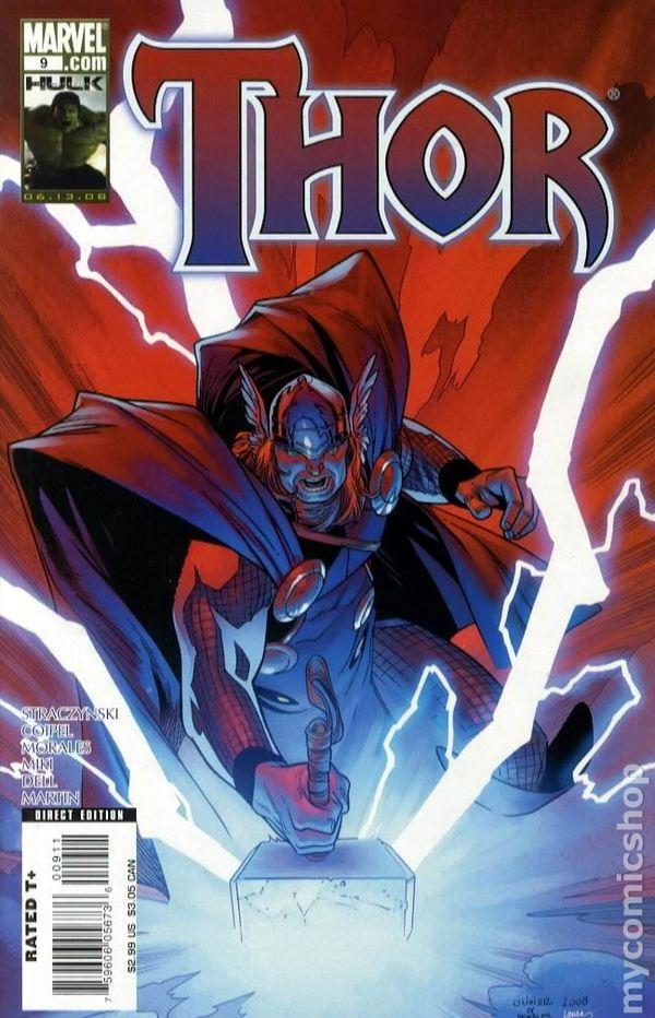 Thor (2007 3rd Series) comic books | 600 x 932 jpeg 103kB