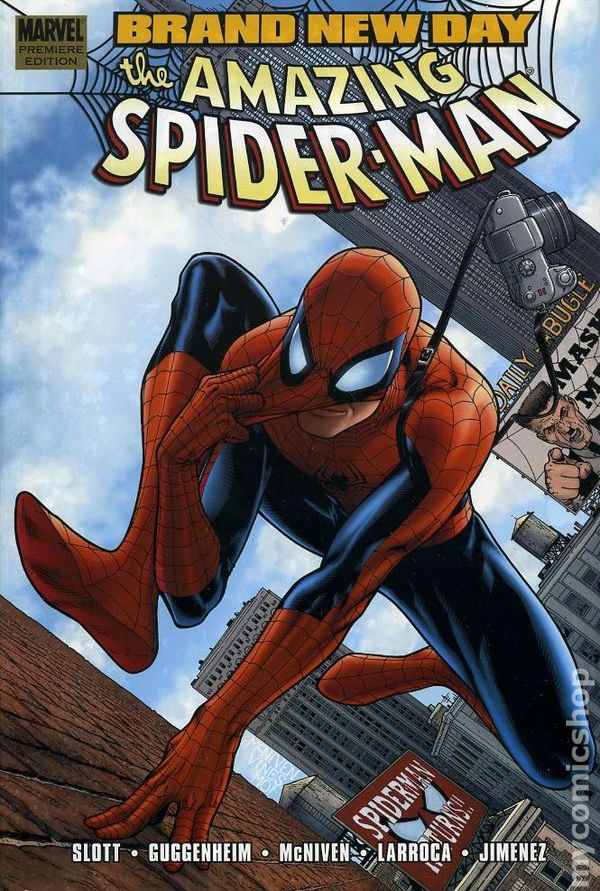 1963 SPIDER-MAN ONE MOMENT IN TIME HARDCOVER New Hardback Collects #638-641