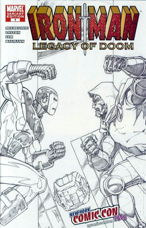 Iron Man Legacy Of Doom 2008 Comic Books