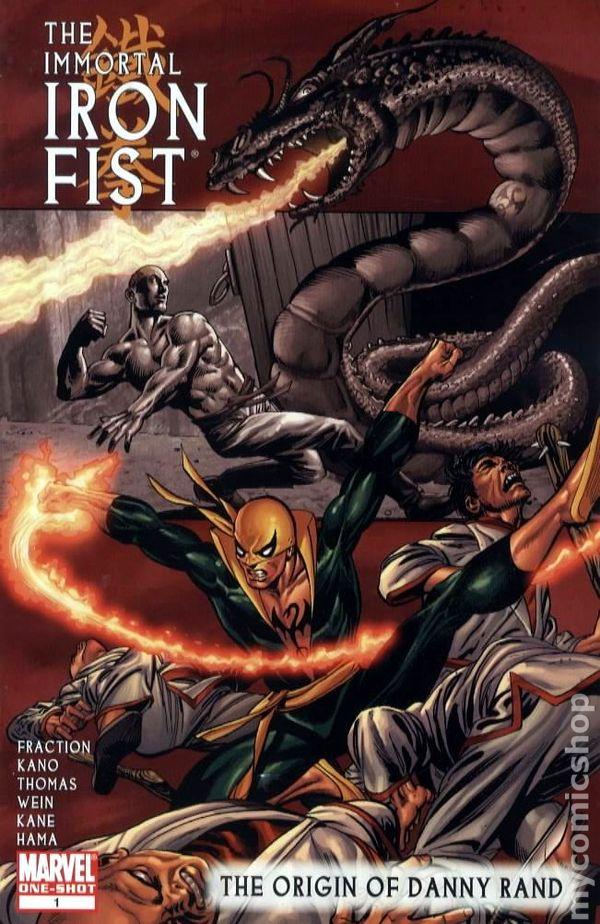 Origin Of Iron ~ Immortal iron fist origin of danny rand comic books