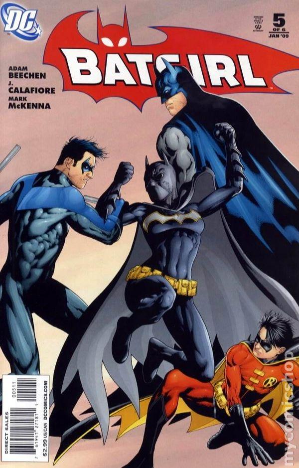 Batgirl #2 October 2008 DC Comics