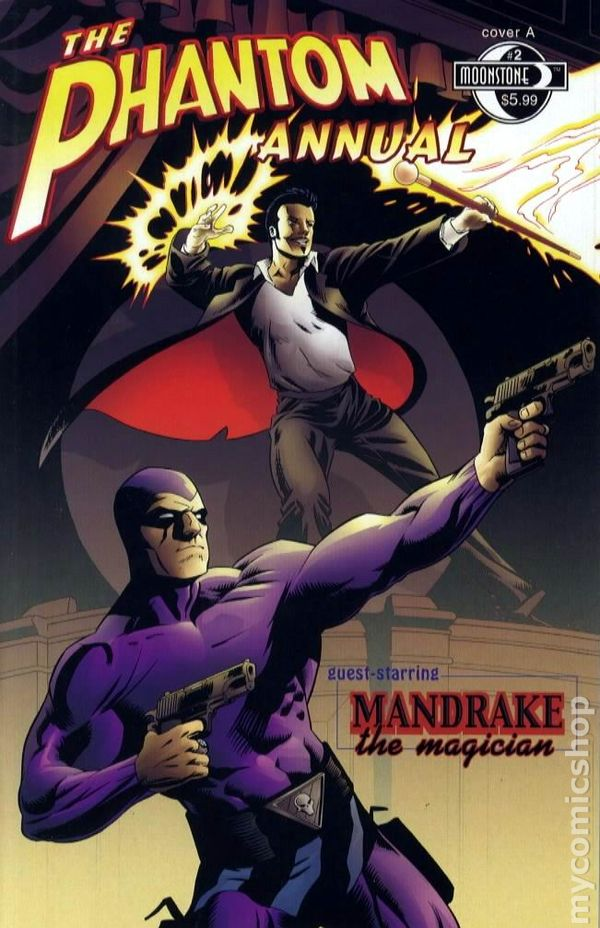 Other Modern Age Comics moonstone, 2008 Lower Price with The Phantom # 26 Cover B Limited Version