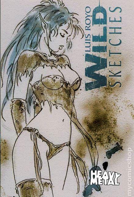 Wild Sketches Luis Royo Wild Sketches sc 2006 Luis