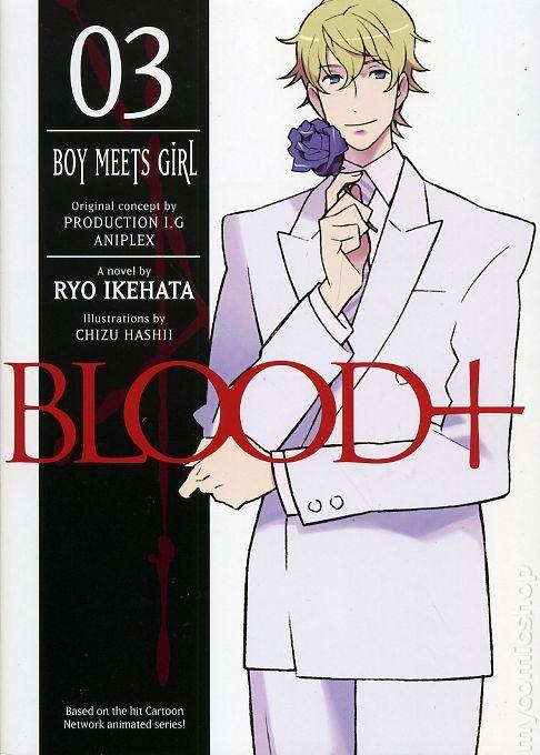Blood light novel 1~4 Complete Set Ryo Ikehata book