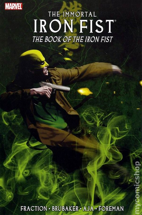 Book of iron fist