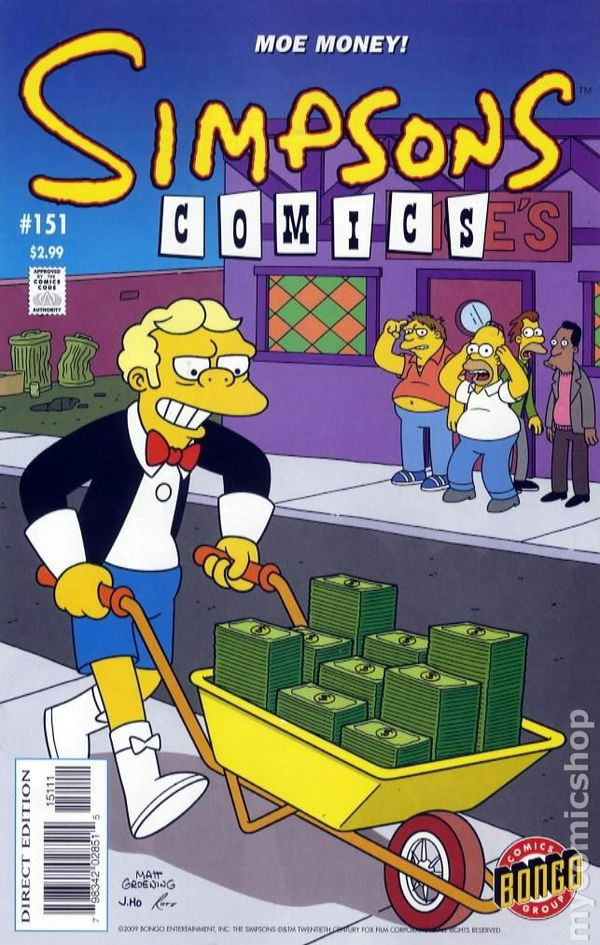 1st SERIES 1993 SIMPSONS COMICS #197 NEAR MINT