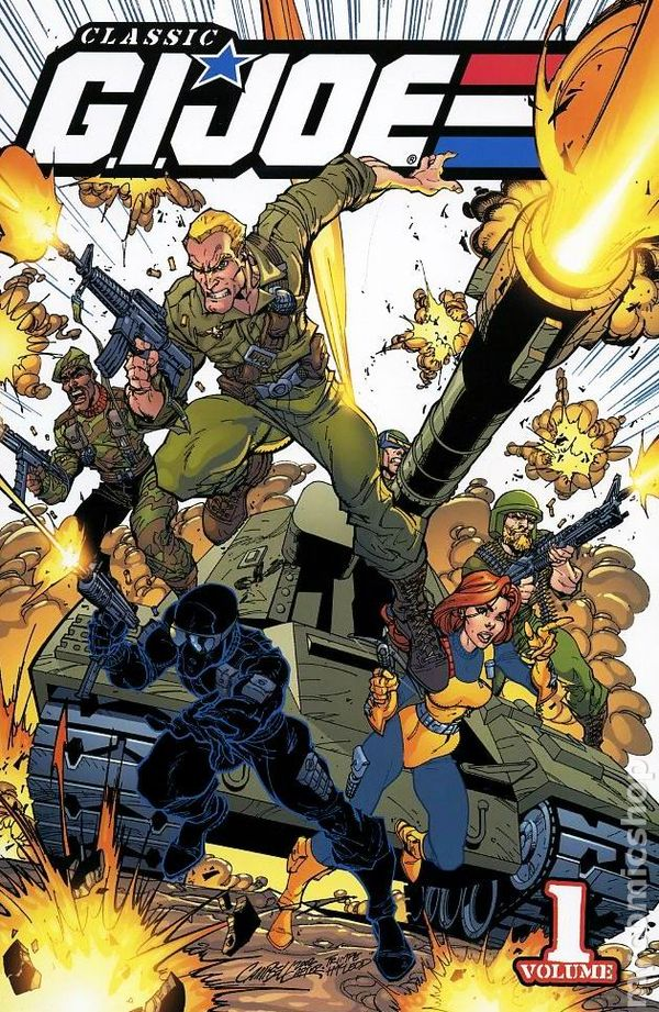 Classic G.I. Joe Vol. 1 Cover