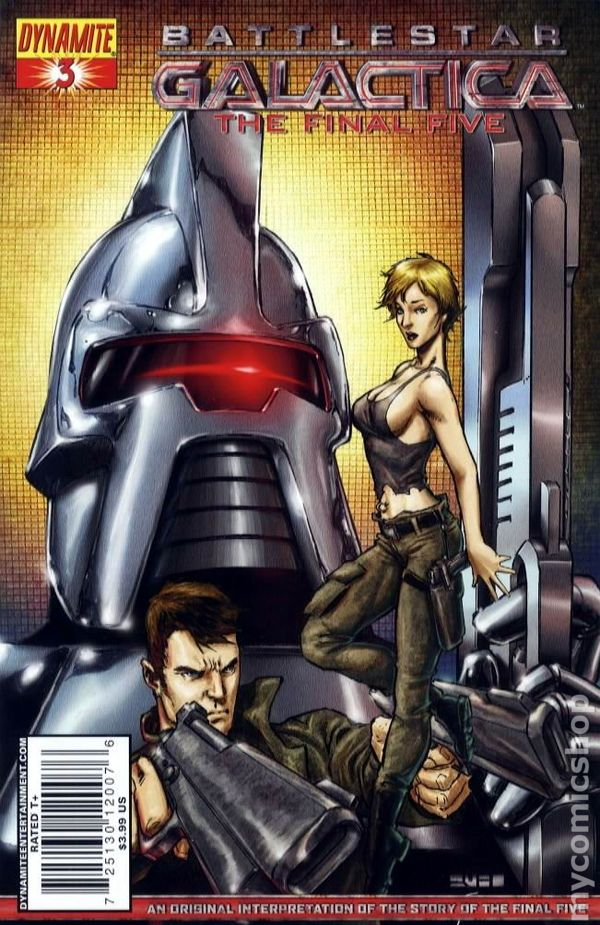 Battlestar Galactica The Final Five 2009 Dynamite Comic