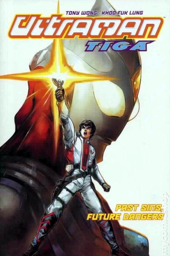 Ultraman Tiga Tpb 2004 2005 Dark Horse Comic Books