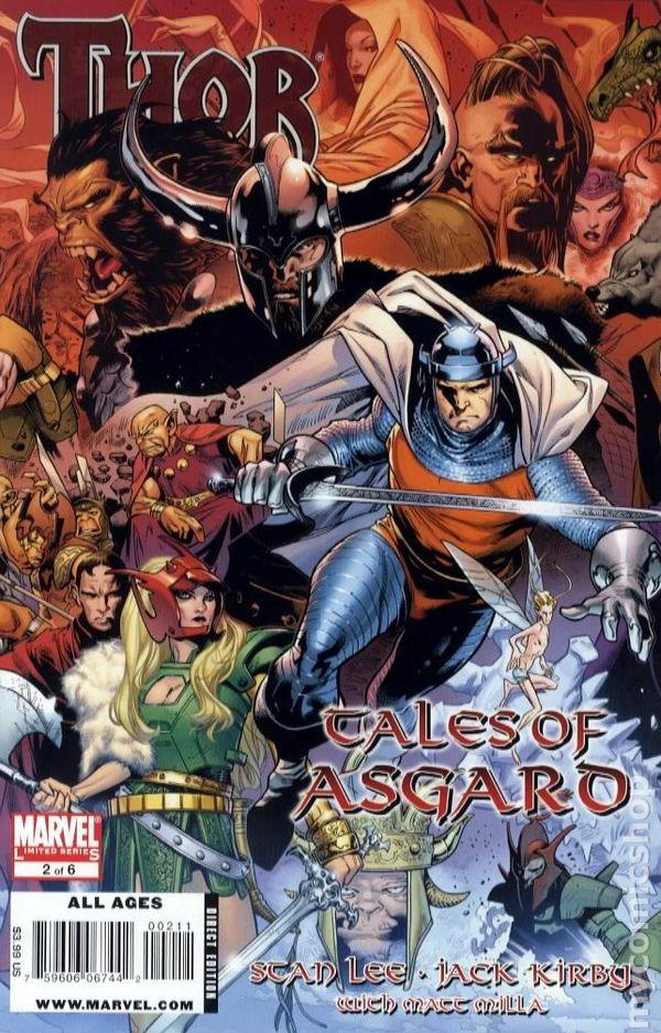 Thor Tales of Asgard 2009 ic