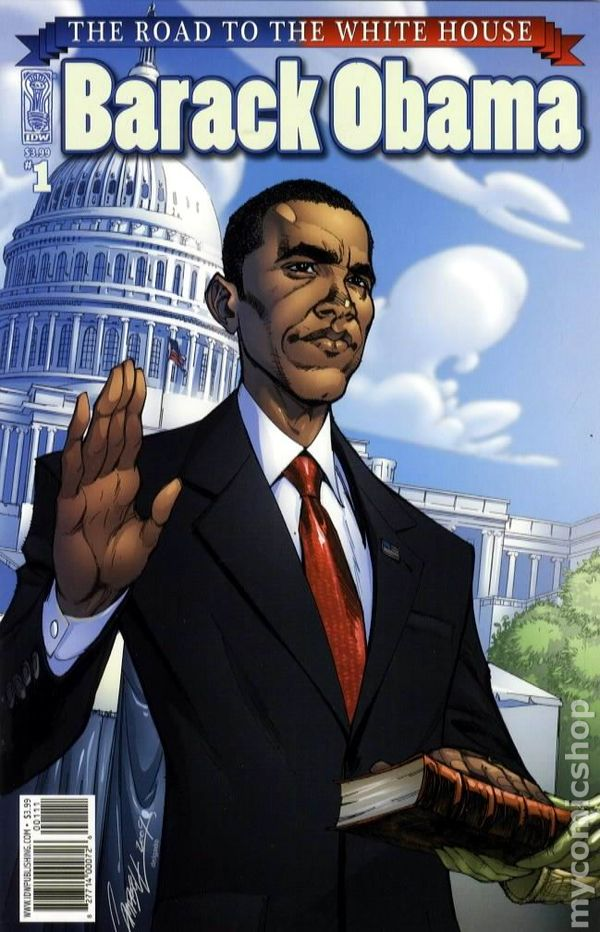 Barack obama 2009 comic books sciox Image collections