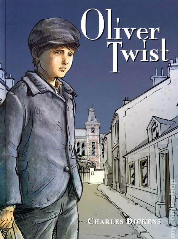 Oliver Twist Book Cover 20876 | RIMEDIA