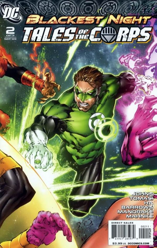 Blackest Night: Tales of the Corps (2009) - BD