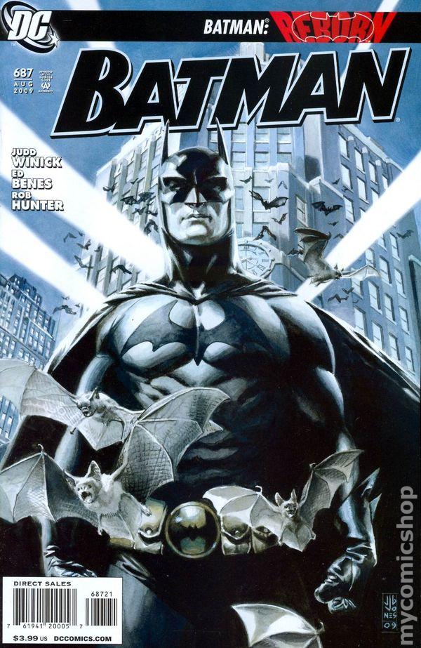 BATMAN #688 VERY FINE 2009 DC COMICS BATMAN REBORN