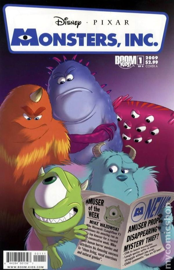 Monsters Inc Comic Books Issue 1