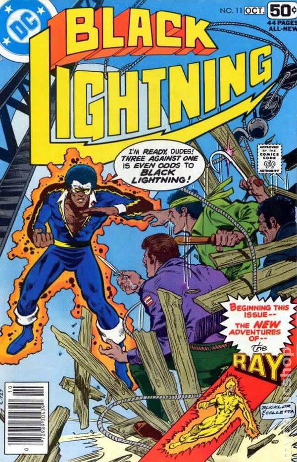 Black Lightning #11 December 1995 DC Comics Devries Cariello Champagne