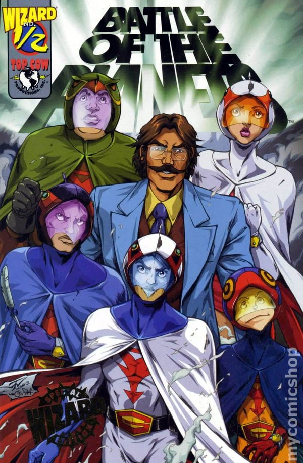 Battle of the Planets (2002) Wizard 1/2 comic books