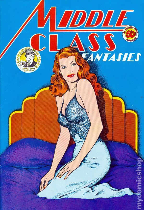 Middle Class Fantasies (1973) comic books | 600 x 875 jpeg 128kB