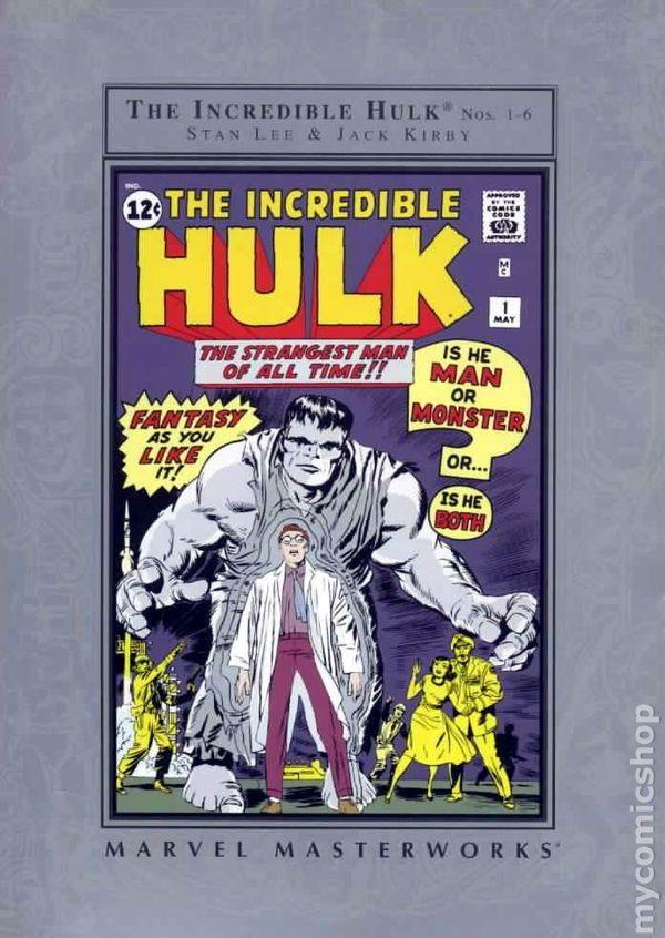 Marvel Masterworks Incredible Hulk Tpb 2003 Barnes And