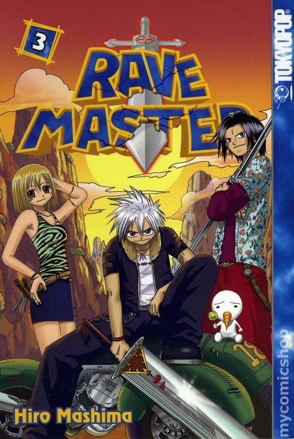 Rave Master GN 2003 2009 Digest 3 1ST