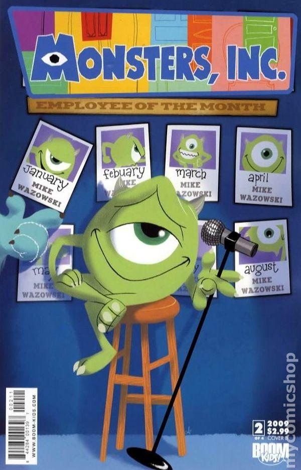 Monsters Inc Laugh Factory 2009 Boom Studios Comic Books