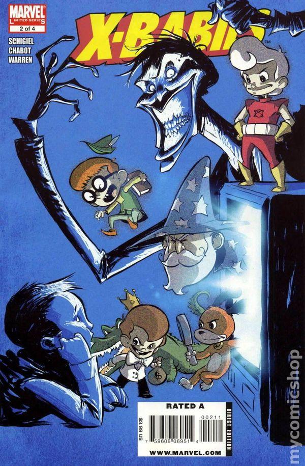 X-men X-Babies #1 Planet Terry Variant Marvel Comics 2009 NM