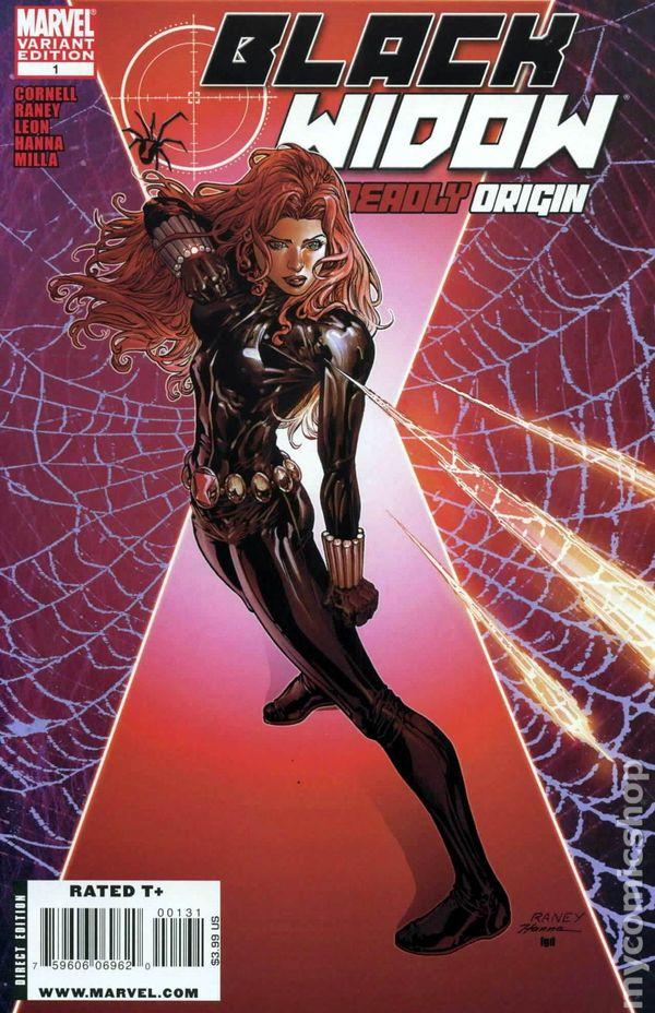 black widow deadly origin 2009 comic books