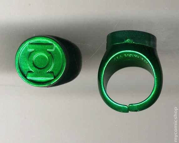 Green Lantern Power Ring Colors