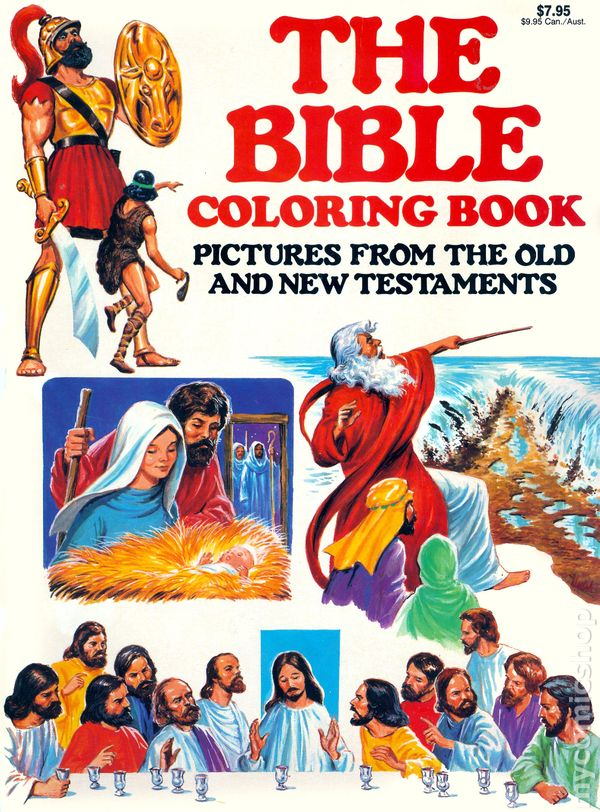 Bible Coloring Book (Creative Child Press) comic books