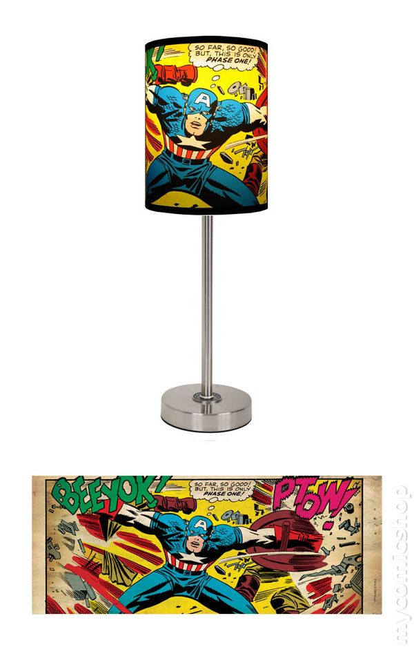 Lamp In A Box Marvel Heroes (2009) MCA CU1
