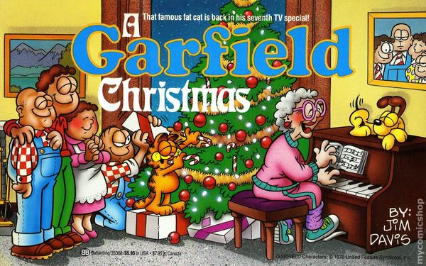 Image result for garfield christmas