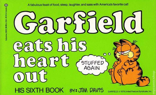 Garfield Comic Books Issue 6