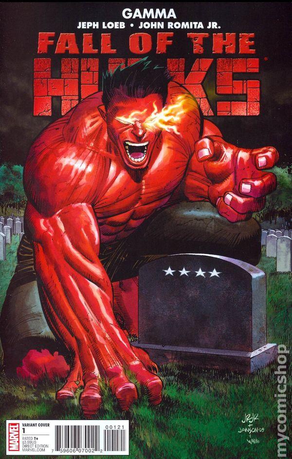 Fall of the Hulks Alpha /& Gamma One-Shot 2010 2 Comics Marvel Comics