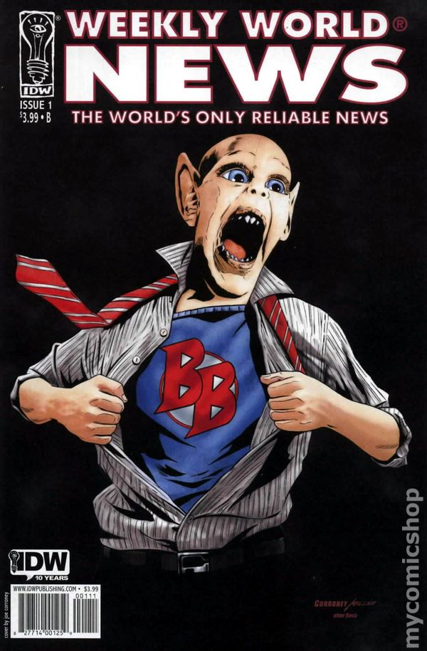 Weekly World News 2010 IDW 1B