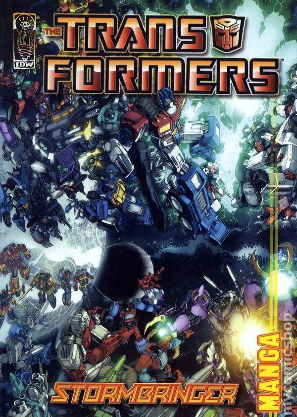 Transformers Stormbringer Manga TPB (2007) comic books