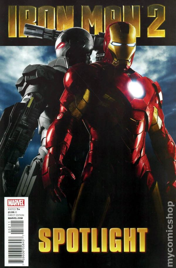 Iron Man 2 Spotlight 2010 Comic Books