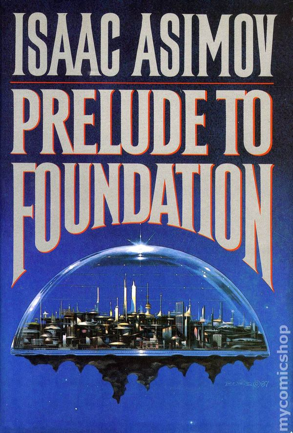 an analysis of prelude to foundation by isaac asimov Prelude to foundation is a novel by american writer isaac asimov, published in  1988 it is one  zeroth law of robotics seldon also suspects that venabili is a  robot, too this theme would later be picked up in forward the foundation.