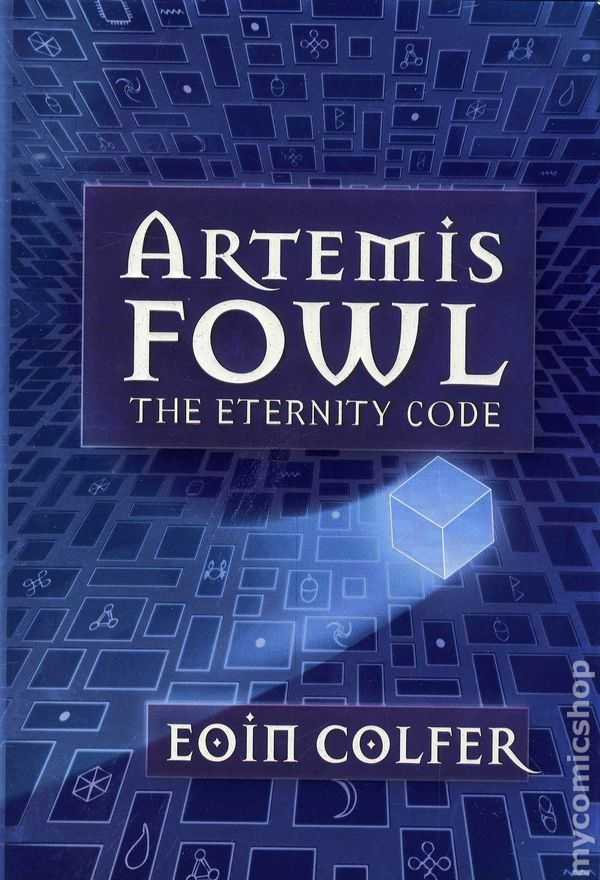 artemis fowl the eternity code hc  2003 hyperion novel