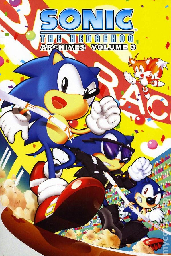 Sonic The Hedgehog Archives 2006 2015 An Archie Digest Comic Books
