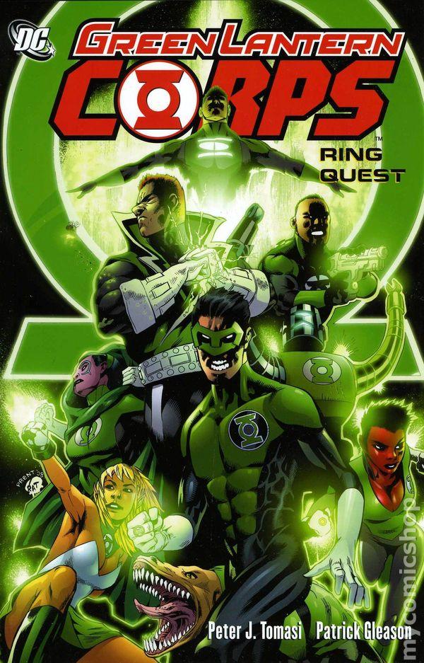 green lantern corps comic books issue 1
