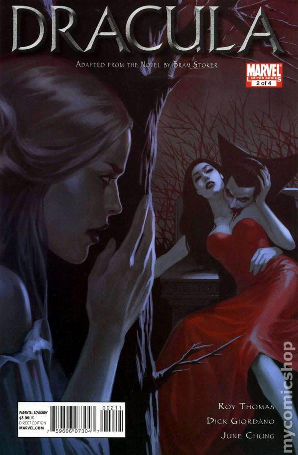 Dracula (2010 Marvel) comic books