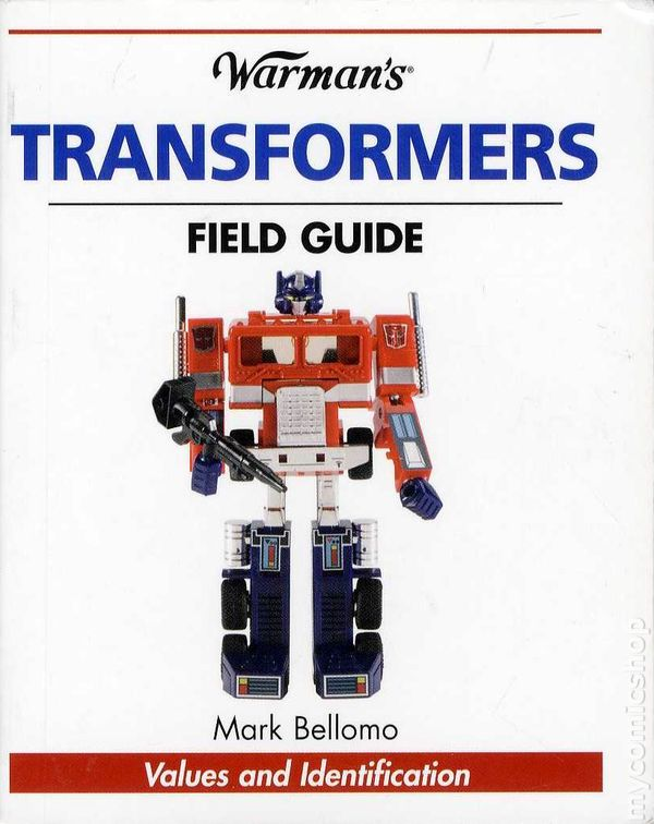 Warman's transformers field guide book used in excellent condition.